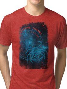 Cancer- Intuitive, loving and Tenacious Tri-blend T-Shirt