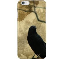 The Crow Is King iPhone Case/Skin