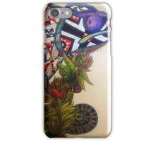 Zentangle Chameleon  iPhone Case/Skin