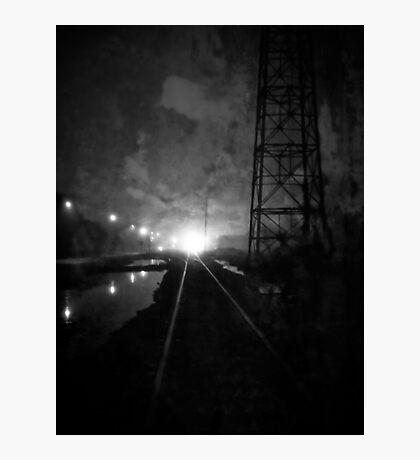Marigny Tracks Photographic Print
