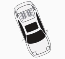 MR2 SW20 Sticker Top View JDM by MikeKunak