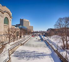 Rideau Canal by Eunice Gibb