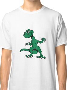 Dragon funny design cool comic Classic T-Shirt