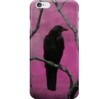 The Color Fuchsia iPhone Case/Skin