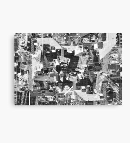 Urban Mutations Canvas Print
