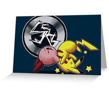 The Kirby Suplex Greeting Card