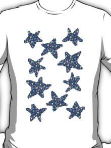 starr blue pat. T-Shirt