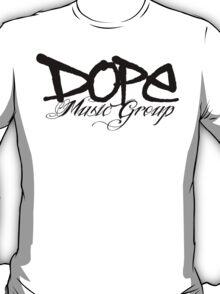 Dope Music Logo BLK T-Shirt