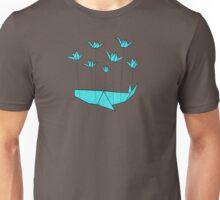 Origami Fail Whale Unisex T-Shirt