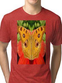 Meadow Argus Butterfly Tri-blend T-Shirt