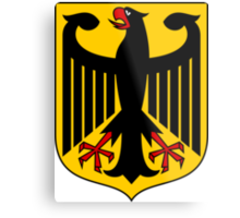 Coat of Arms of Germany  Metal Print