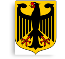 Coat of Arms of Germany  Canvas Print