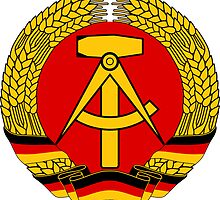 National Emblem of East Germany  by abbeyz71