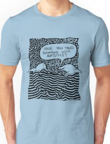 Swimming with Autistics Unisex T-Shirt