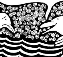 Swimming with Autistics Sticker