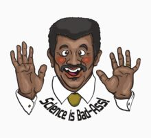 """Neil deGrasse Tyson """"Science is Bad-Ass!"""" by MercurialRaven"""