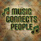 Music Connects People by Mehdals