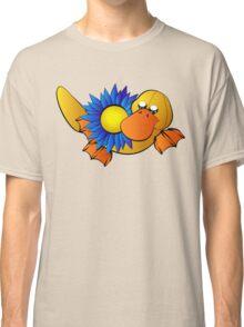 Platypus with Gerbera Daisy Classic T-Shirt