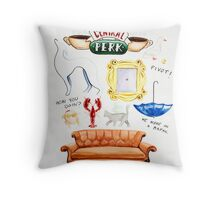 Friends TV Show Throw Pillow