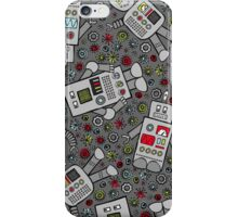 Retro Robots iPhone Case/Skin
