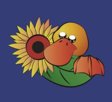 Platypus with Sunflower by jkartlife