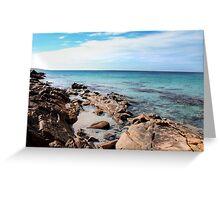 Coastal Blue Greeting Card