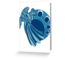 Ange Nouveau Greeting Card