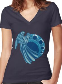 Ange Nouveau Women's Fitted V-Neck T-Shirt