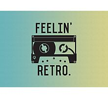 Retro Cassette Tape Photographic Print