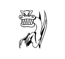 Dragon bad humor funny cool comic Photographic Print