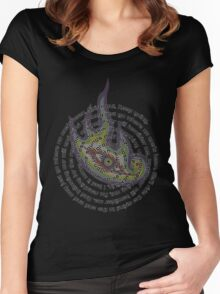 Spiral Out - Lateralus Women's Fitted Scoop T-Shirt