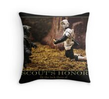 Scout's Honor Throw Pillow