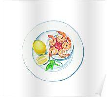 Shrimp Cocktail Poster