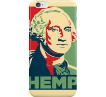 George Washington Hemp Cannabis Weed iPhone Case/Skin