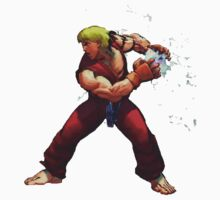 Ken charging hadouken - Street Fighter by fabiobatt