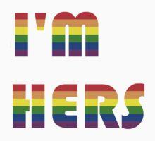 I'm Hers Rainbow Kids Tee