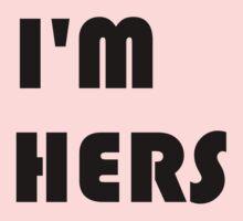 I'm Hers Kids Tee