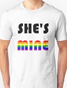 She's Mine Rainbow T-Shirt