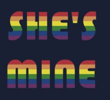 She's Mine Rainbow One Piece - Long Sleeve