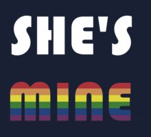 She's Mine Rainbow by Rjcham