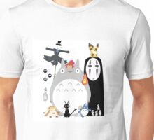 Totoro all Studio Ghibli Gang Unisex T-Shirt