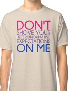 Heteronormative Expectations (bi) Classic T-Shirt