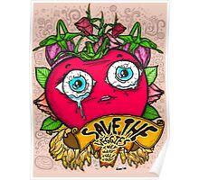 Save The Veggies - Tomato Version 2 Poster