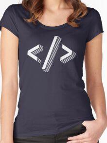 Web Developer Women's Fitted Scoop T-Shirt