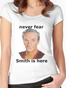 Never fear Smith is here.. Women's Fitted Scoop T-Shirt