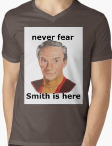 Never fear Smith is here.. Mens V-Neck T-Shirt