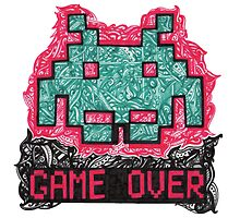 Space Invader by Perky Penguin Designs