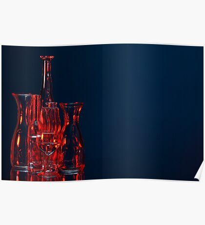 Coloured glass Poster