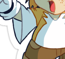 Hyooman Tails Sticker
