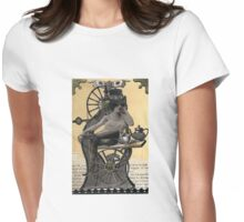 Steampunk Machinist - Sobriquette Pinion Womens Fitted T-Shirt